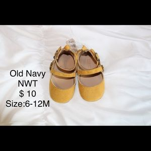 Mustard Baby Girl shoes